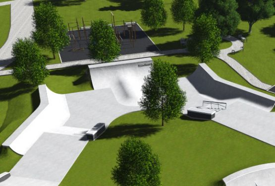 Dokumentacja projektowa betonowego skateparku w Iżewsku w Rosji