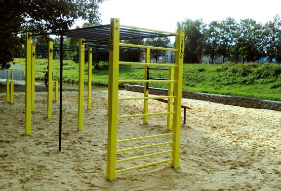 Park kalisteniczny w Raciborzu