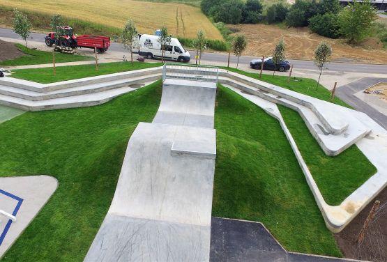 Concreto skatepark en Świecie