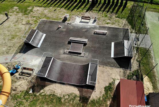Modular skateparks - Techramps Głogów
