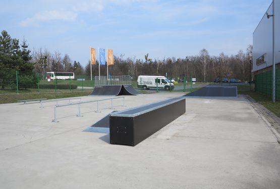Elemente des skatepark - Tarnowskie Góry (Polen)