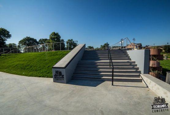 Wąchock Skatepark creado por Grupo Techramps