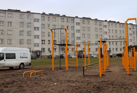 Equipment for street workout