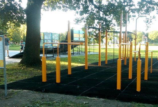 FlowPark for street workoutu in Błonie