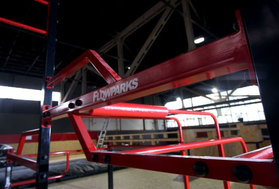 Flowpark in Hangar 646 - Varsovie