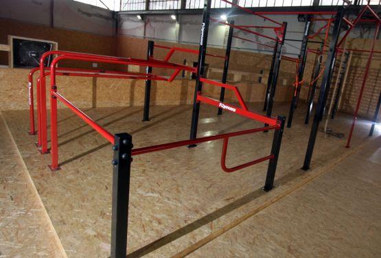 interne Flowpark in Hangar 646 in Varsovie