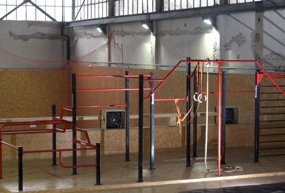 Interne Flowpark in Hangar 646
