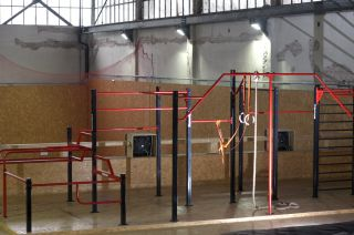 Indoor Flowpark in Hangar 646