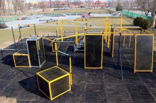 FlowPark - Parkour park in Ełk