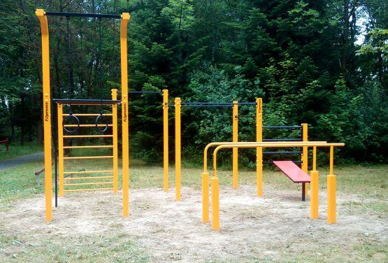 Calisthenics park - flowparks - Rabka