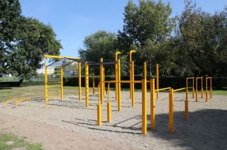 FlowPark Street Workout in Krakau