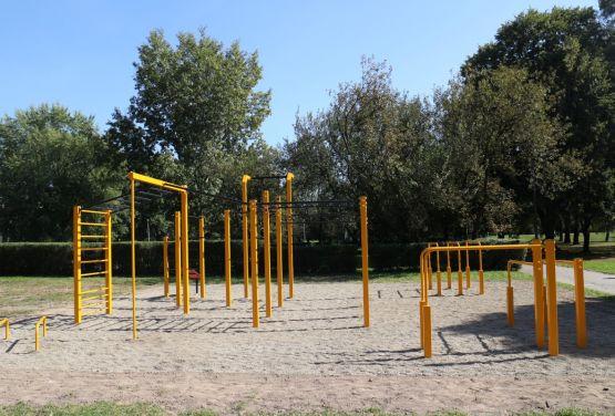 Calisthenics Park in Cracow - FlowParks