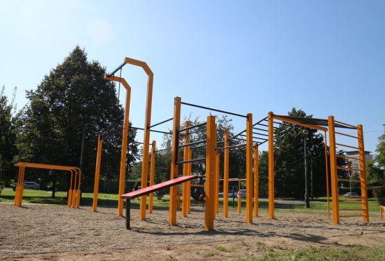 FlowParks en Cracovia - plaza de deportes