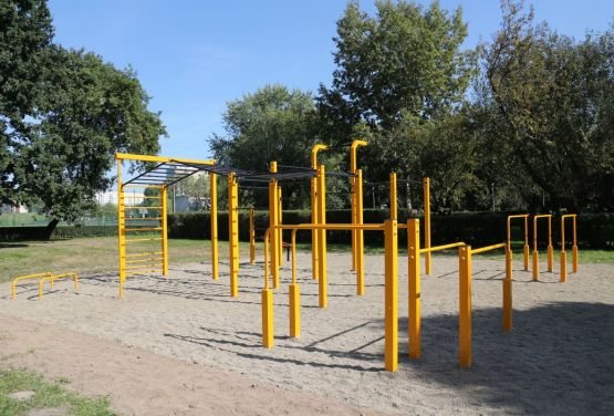 FlowParks en Cracovia - Street workout