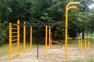 Rabka Zdrój - Street Workout Park Polen