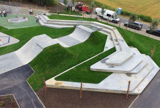 Klein Beton skatepark in Świecie