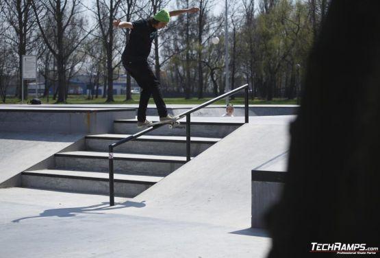 Skatepark w Oświęcimiu - miniplaza