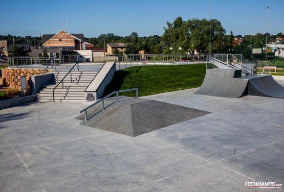 Techramps -  concrete skatepark Wąchock