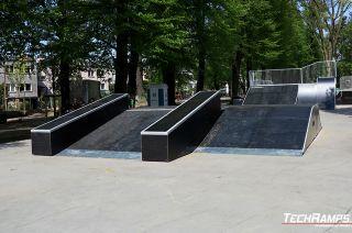 Funbox skateparks in Polen