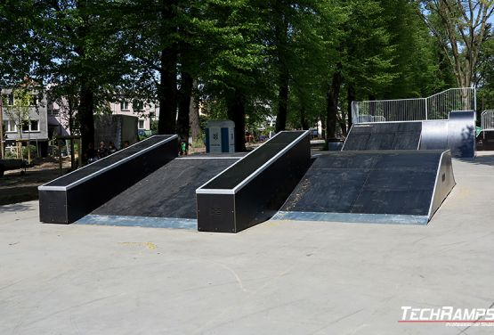 Funbox w skateparku
