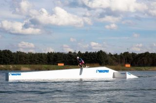 BS Boardslide in wakepark Belgien