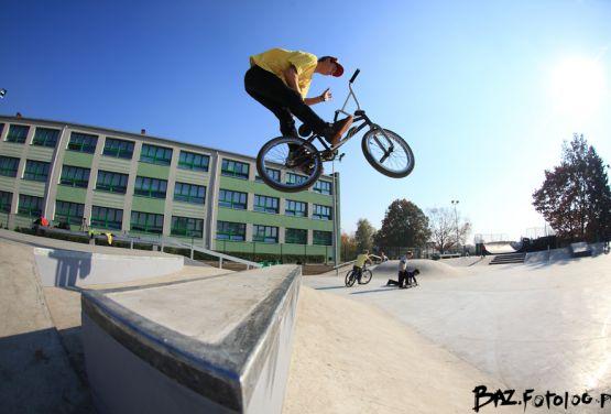 Będzin - skatepark betono monolityczny Techramps