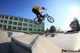 Skatepark in Będzin - Betontechnik