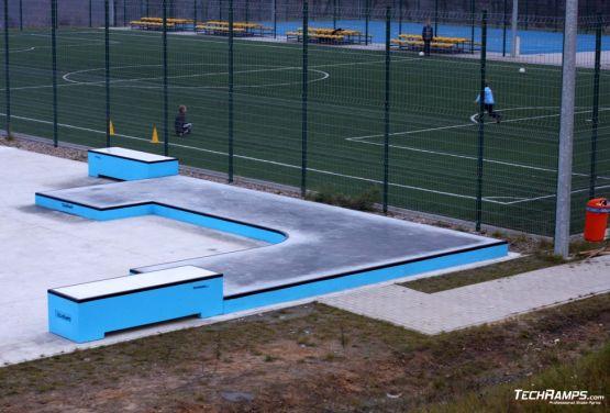 Plataforma callejera - skatepark