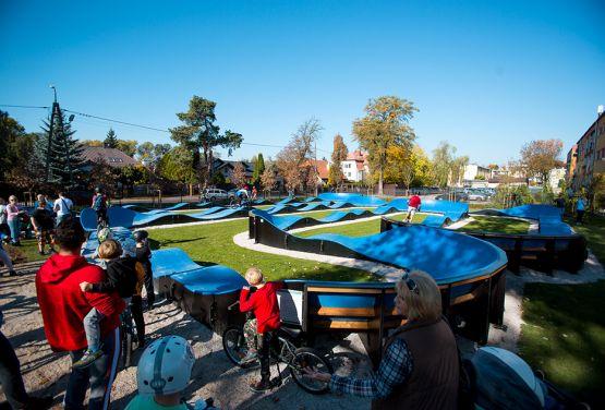 Kompozytowy Pumptrack w Grodzisku Mazowieckim