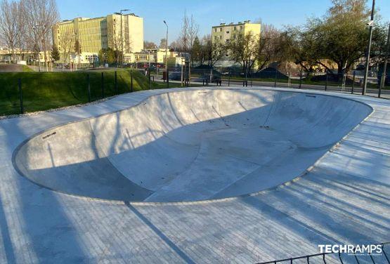 Betonowy bowl - Opole