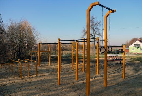 Calisthenic park in Niekłań Wielki
