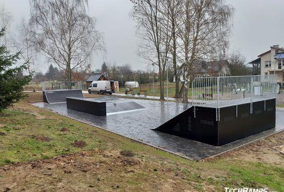 Modularer skatepark von Techramps - Szczebrzeszyn