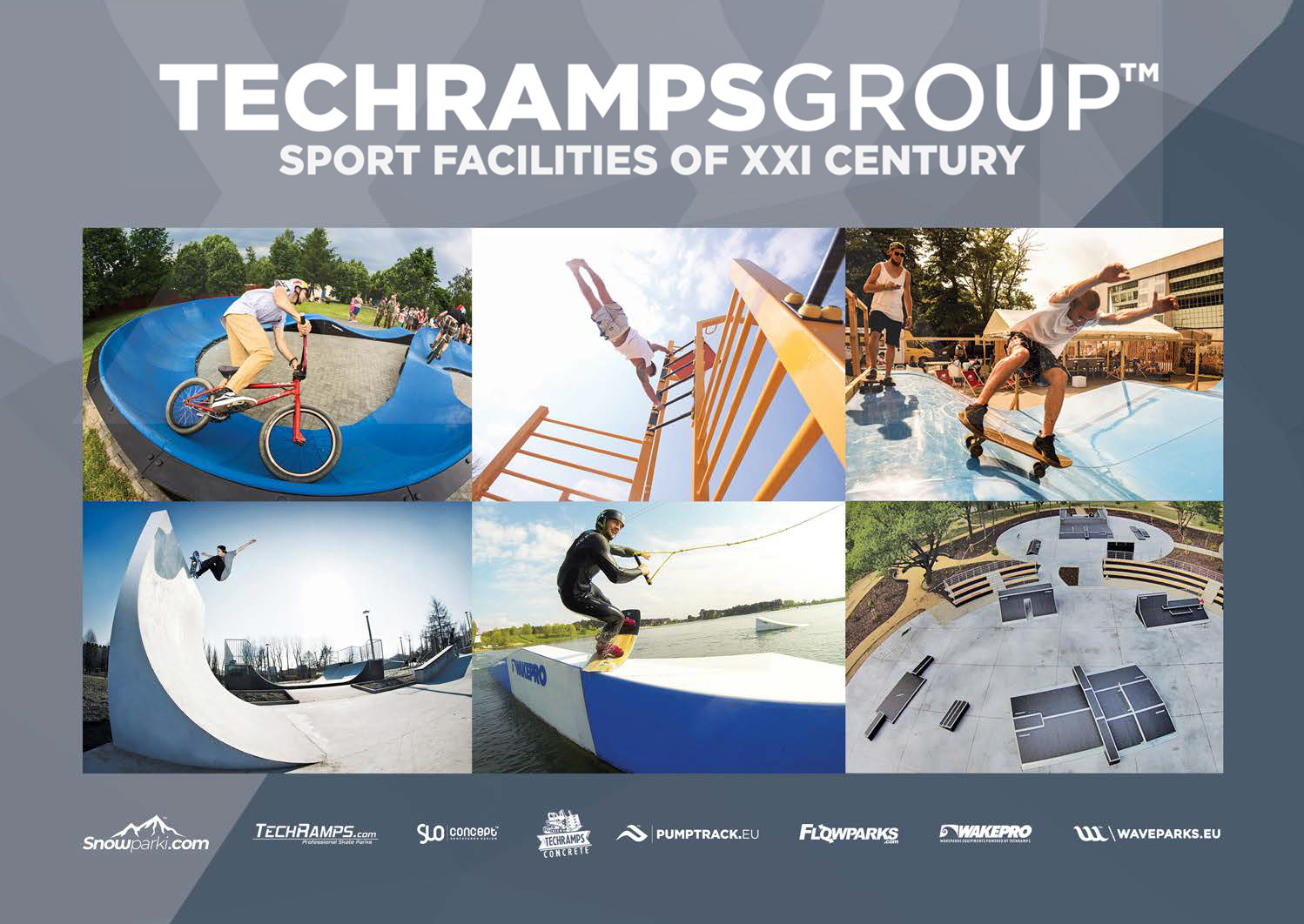 Catalogue des installations sportives | Techramps Group