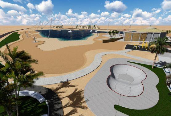 Skatepark in Ägypten