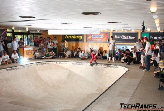 Indoor bowl from Techramps Group