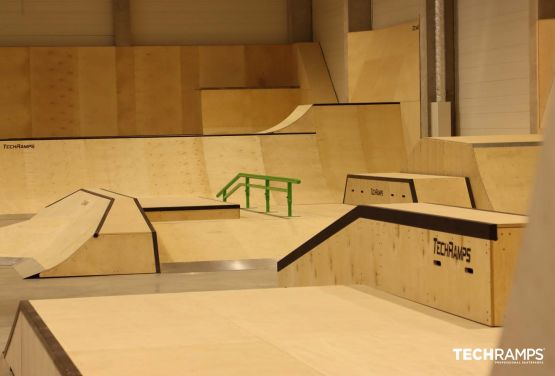 Year-round skatepark Cracow