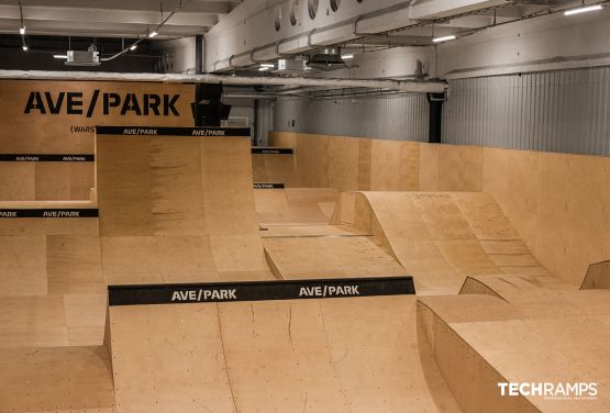 Year-round skatepark