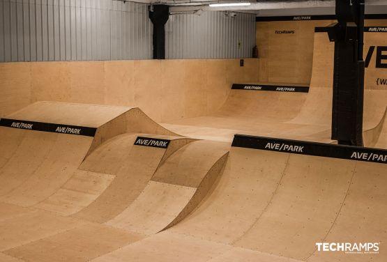Ganzjähriger Skatepark