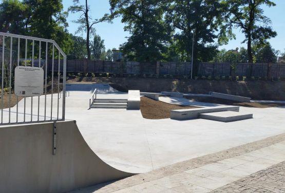 Pologne - Skatepark à Żagań