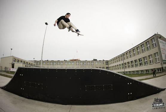 Jumpbox modułowy - Skatepark Dąbrowa Tarnowska