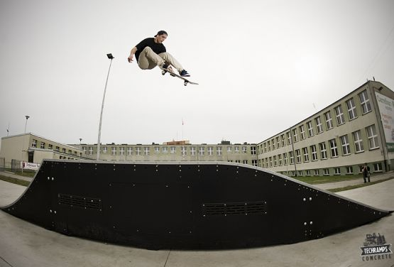 Modulaire Jumpbox - Skatepark Dąbrowa Tarnowska