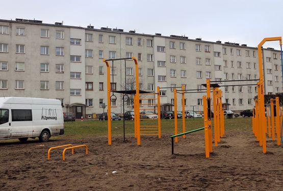 Namysłowski park do ćwiczeń