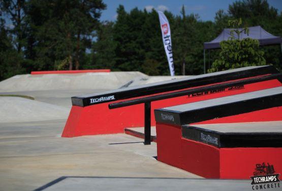 Konkreter skatepark - Przysucha