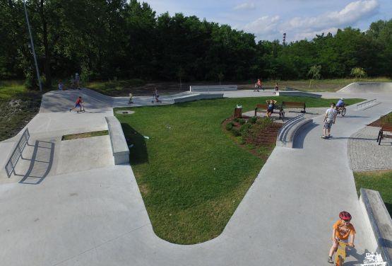 Konkreter Skatepark