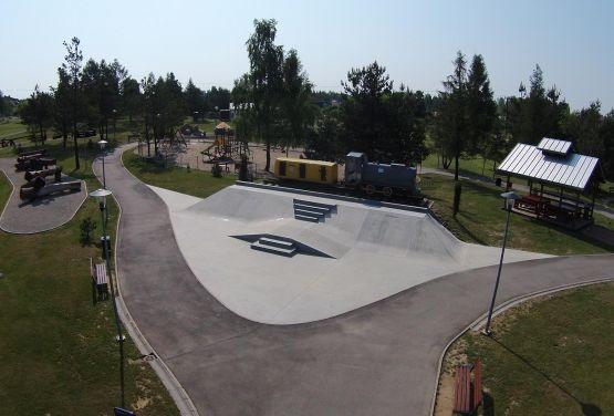 Skateplaza in Olkusz in Polen