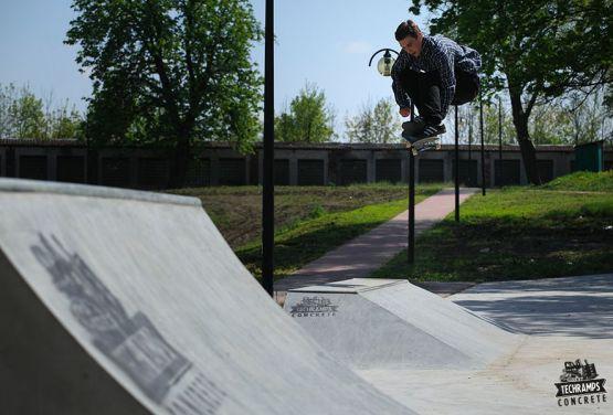 Konkreter Skatepark Techramps - Stopnica