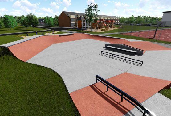 Wejherowo - Projekt des Skatepark