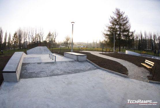 Konkretes Skateboard Krakau