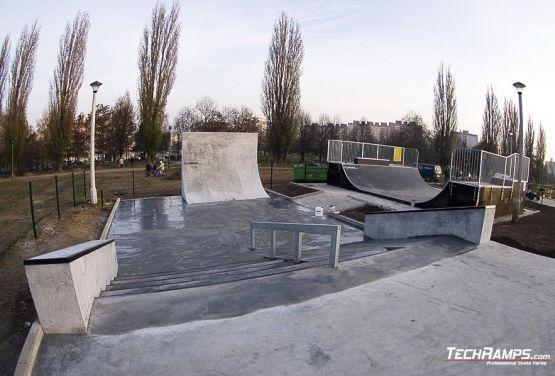 Krakau Mistrzejowice Skateplaza