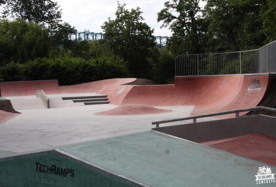 Skatepark - Kraków Park Jordana
